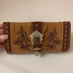 Cowgirl Belt Buckle Wallet